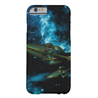 Universe with alien ship iPhone 6 case