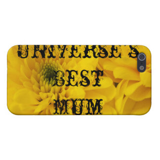 Universe's Best Mum Cover For iPhone SE/5/5s