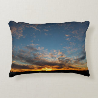 Universe's Sunset Expressions Accent Pillow