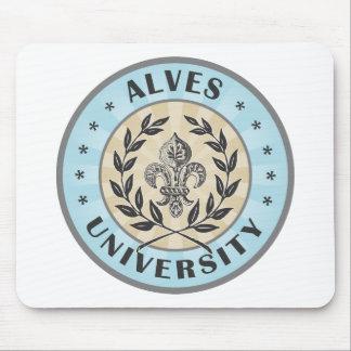 Universidad Alves azul claro Alfombrillas De Raton