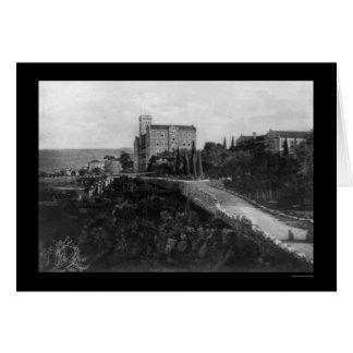 Universidad americana de Beirut, Líbano 1921 Tarjeton