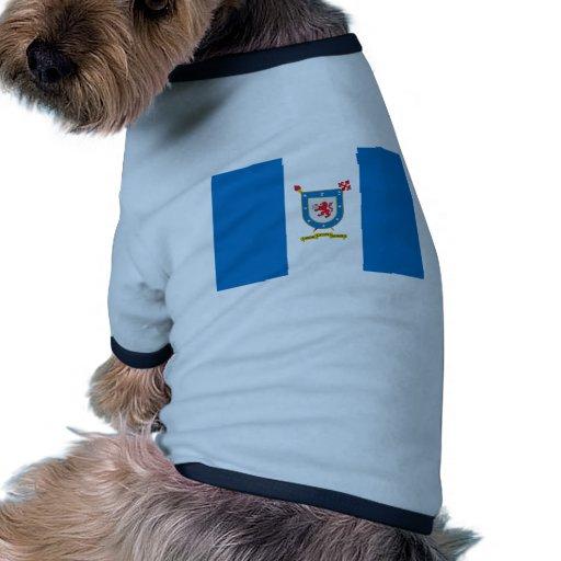 Universidad bandera de Santiago, Chile Camiseta De Perrito