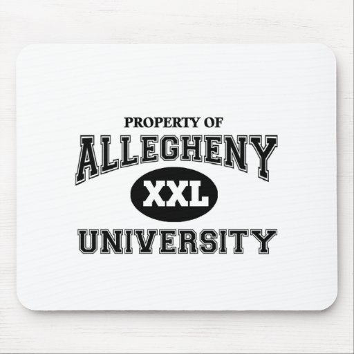 Universidad de Allegheny Alfombrillas De Ratón