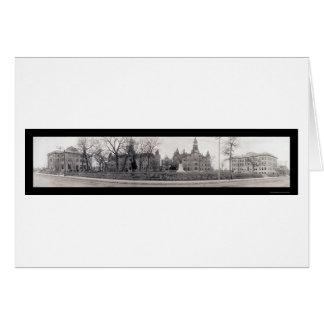 Universidad de Baylor, foto 1910 de TX Tarjeta De Felicitación