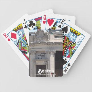 Universidad de Berklee de los naipes de la música Baraja Cartas De Poker