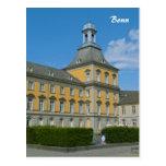 Universidad de Bonn Tarjeta Postal