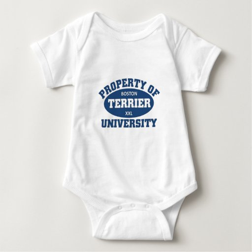 Universidad de Boston Terrier Camiseta