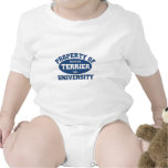 Universidad de Boston Terrier Traje De Bebé