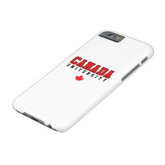 Universidad de Canadá Funda Barely There iPhone 6