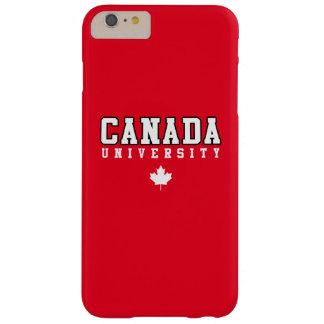 Universidad de Canadá Funda Barely There iPhone 6 Plus