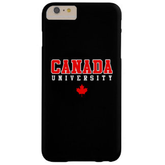 Universidad de Canadá Funda Para iPhone 6 Plus Barely There