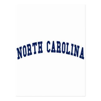 Universidad de Carolina del Norte Tarjetas Postales