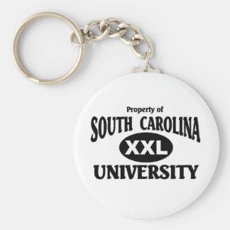 Universidad de Carolina del Sur Llavero Personalizado
