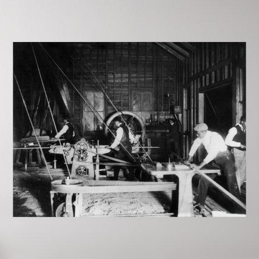 Universidad de Claflin: 1899 Póster