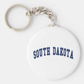 Universidad de Dakota del Sur Llaveros