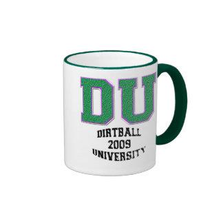 Universidad de Dirtball Taza A Dos Colores