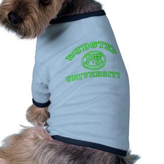 Universidad de Dubstep Camiseta De Perro