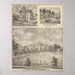 Universidad de Earlham, Richmond Póster
