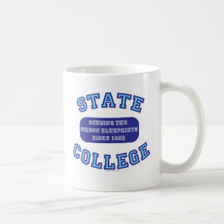 Universidad de estado 2 echada a un lado taza