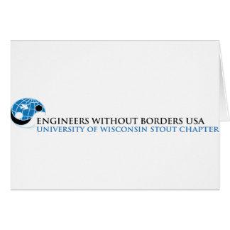Universidad de EWB-USA del capítulo de la cerveza Tarjeta De Felicitación
