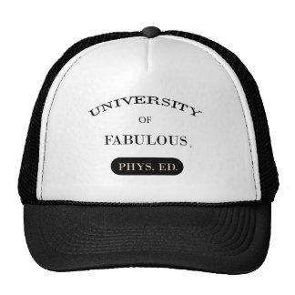 Universidad de fabuloso (Phys. Ed.) Gorros