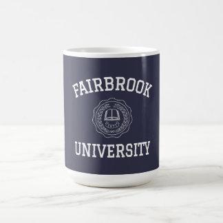 Universidad de Fairbrook Taza Clásica