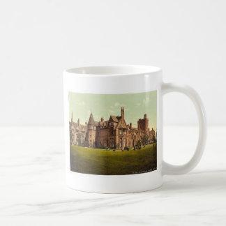 Universidad de Girton, vintage Photoch de Cambridg Tazas De Café