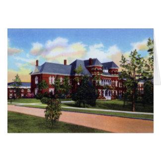 Universidad de Greensboro Carolina del Norte del N Tarjeta De Felicitación