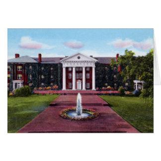 Universidad de Greensboro Carolina del Norte Green Tarjeta De Felicitación