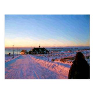 Universidad de Groenlandia de Ozborne Whilliamsson Postales
