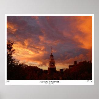 Universidad de Harvard, 2004, por J.L. Pegg Póster