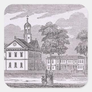 Universidad de Harvard, de 'histórico Calcomanías Cuadradas