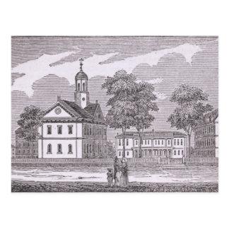Universidad de Harvard, de 'histórico Postal
