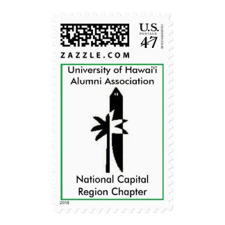 Universidad de la asociación de alumnos de Hawai'i Sellos Postales