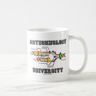 Universidad de la biotecnología (réplica de la DNA Tazas De Café