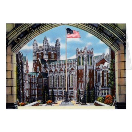 Universidad de la ciudad de CUNY de Nueva York Tarjetas