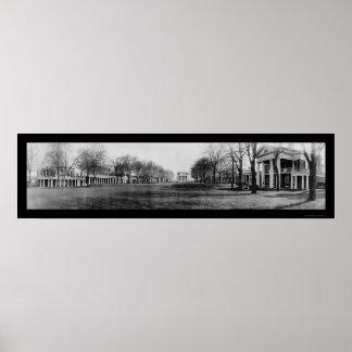 Universidad de la foto 1909 de Virginia Póster