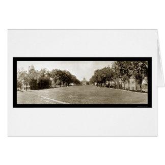 Universidad de la foto 1911 de Wisconsin Tarjeta De Felicitación