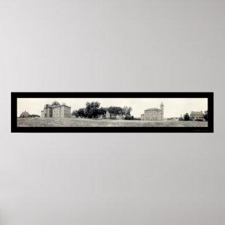 Universidad de la foto 1913 de Kansas Impresiones