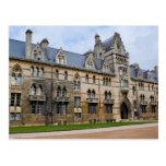 Universidad de la iglesia de Cristo en Oxford, Postal