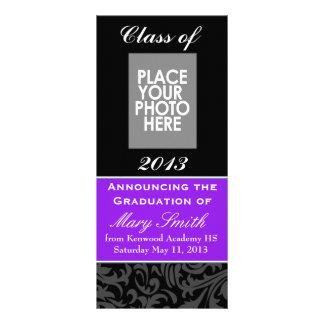 Universidad de la invitación de la graduación o Hi Tarjeta Publicitaria A Todo Color