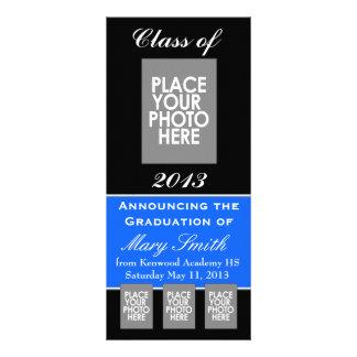 Universidad de la invitación de la graduación o Hi Tarjeta Publicitaria