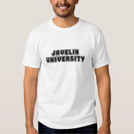 Universidad de la jabalina playeras
