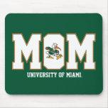 Universidad de la mamá de Miami Tapete De Ratón