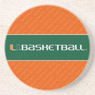Universidad de la marca del baloncesto de Miami Posavasos Para Bebidas
