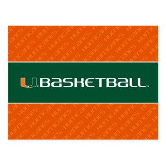 Universidad de la marca del baloncesto de Miami Postal