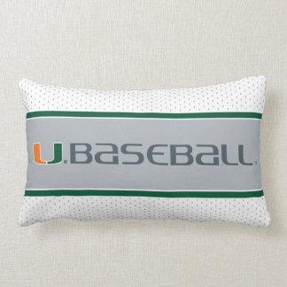 Universidad de la marca del béisbol de Miami Cojin