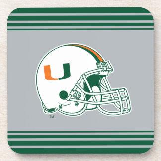 Universidad de la marca del casco de Miami Posavaso