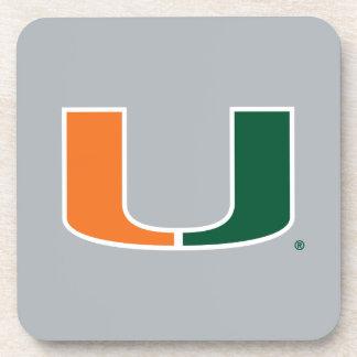 Universidad de la marca primaria de Miami Posavasos