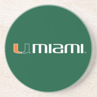 Universidad de la marca secundaria de Miami Miami Posavaso Para Bebida